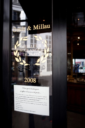 Christophe Vasseur Meilleur boulanger 2008 par le Gault et Millau.
