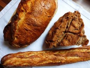 Les 3 pains Du Pain et des Idees
