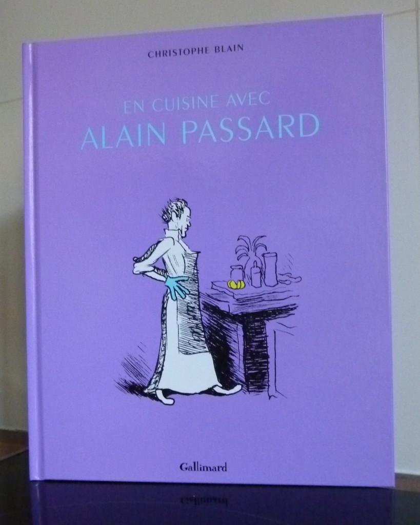 Couverture Album En cuisine avec Alain Passard