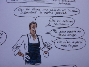 Alain Passard Illustration de Christophe Blain
