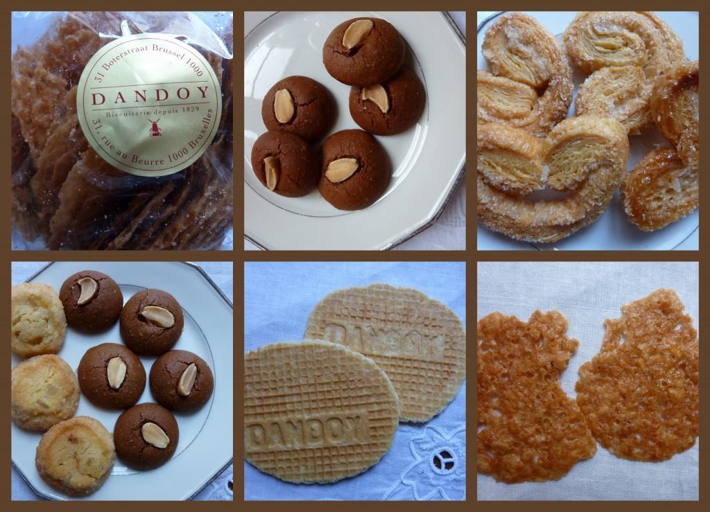 spécilités de la biscuiterie Dandoy