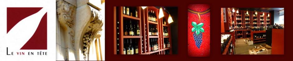 Rubrique le Vin avec Le vin en tête