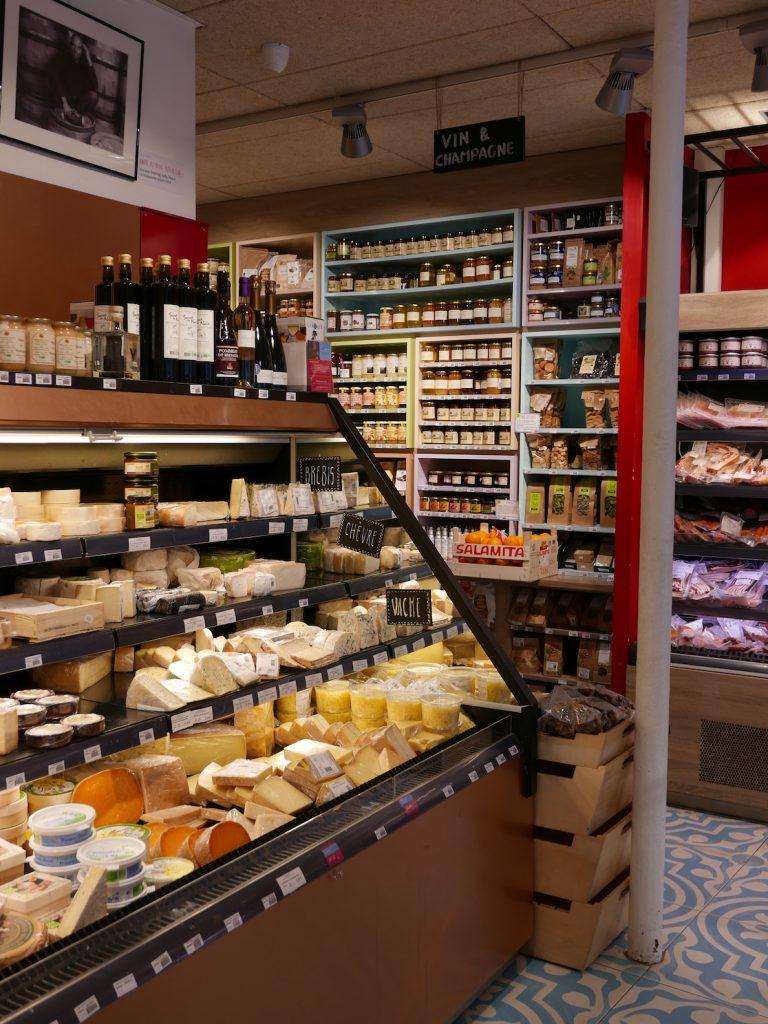 Le rayon fromage de La Récolte