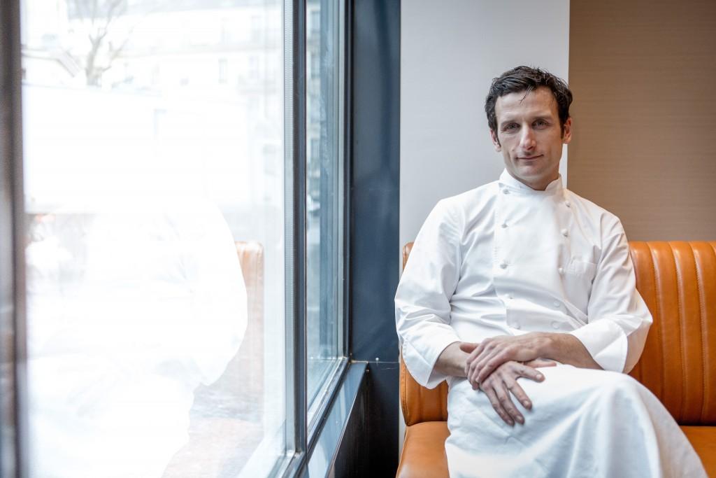 Portrait du Chef Christophe Saintagne
