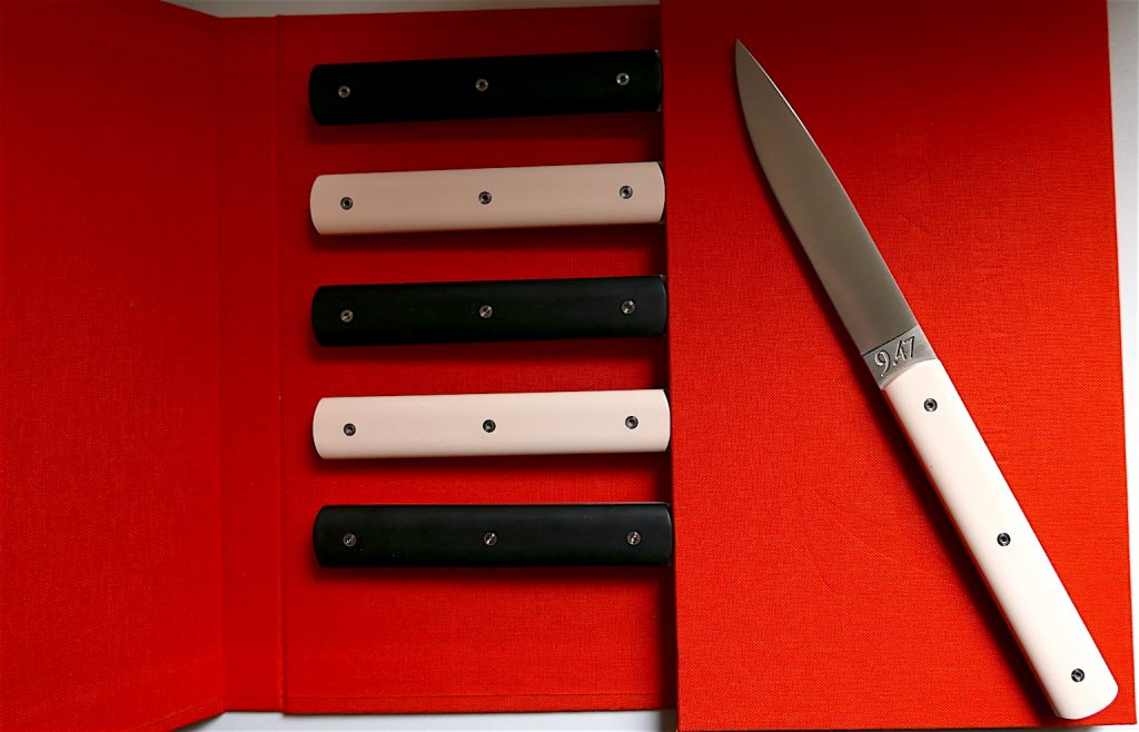 Coffret rouge de 6 couteaux 9.47 Perceval