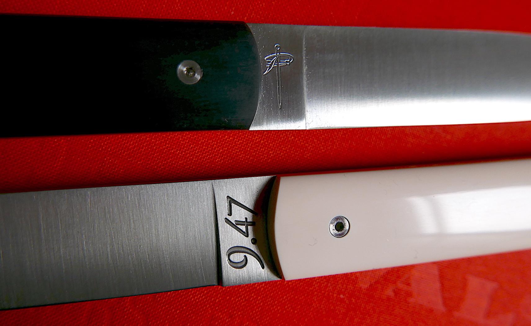 Le 9.47 de l'atelier Perceval, un couteau de table exceptionnel
