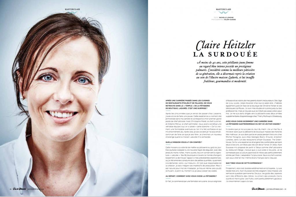 Claire Heiztler est dans Fou de Pâtisserie N°21
