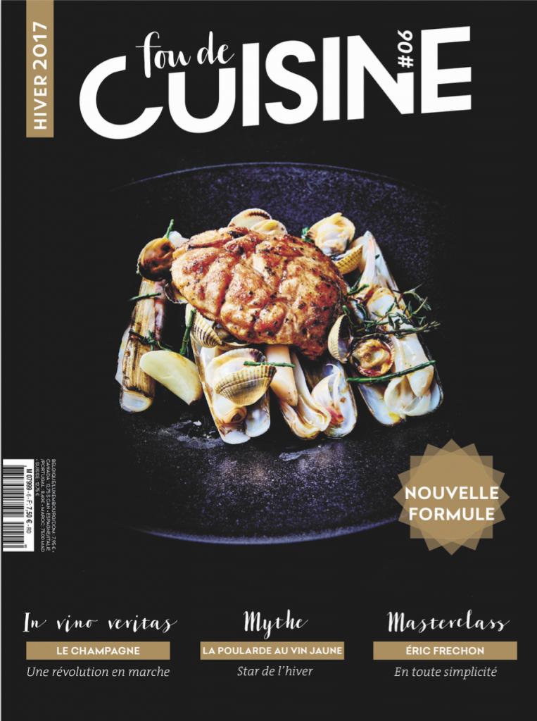 Fou de Cuisine N°6, la couverture