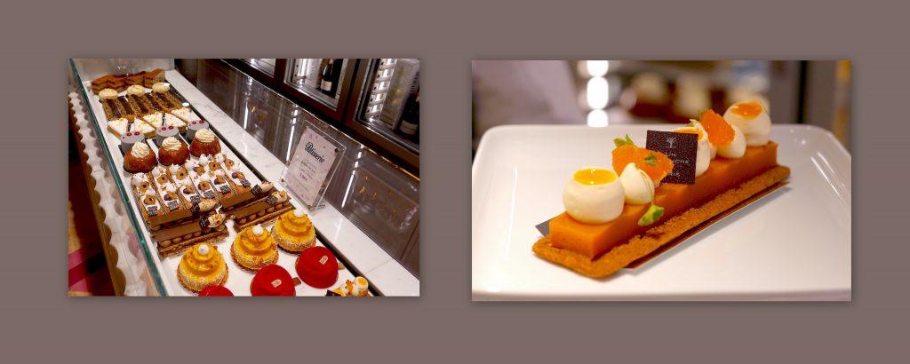 Présentoirs et pâtisseries de chefs chez Fou de Pâtisserie