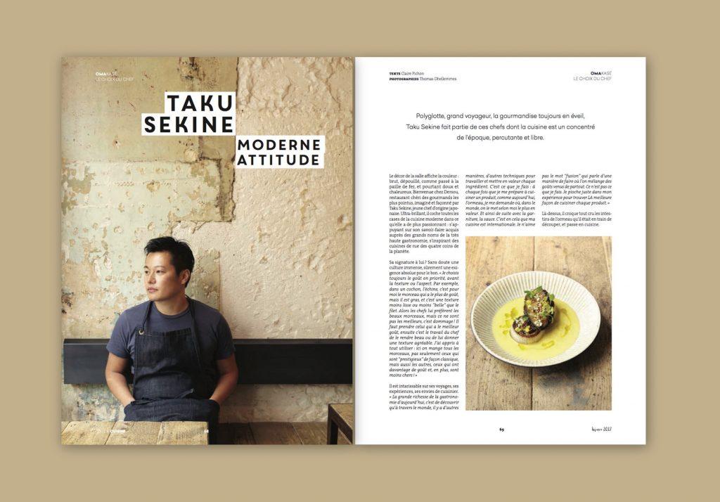 Taku Sekine dans Fou de Cuisine N°6