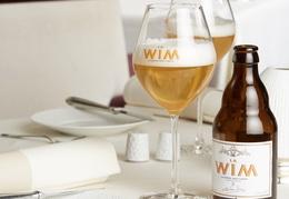 La WIM et son élégant verre à dégustation.