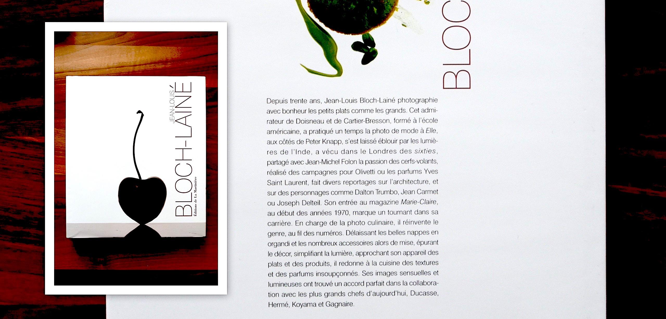 4e de couverture de l'album de JL Bloch-Lainé