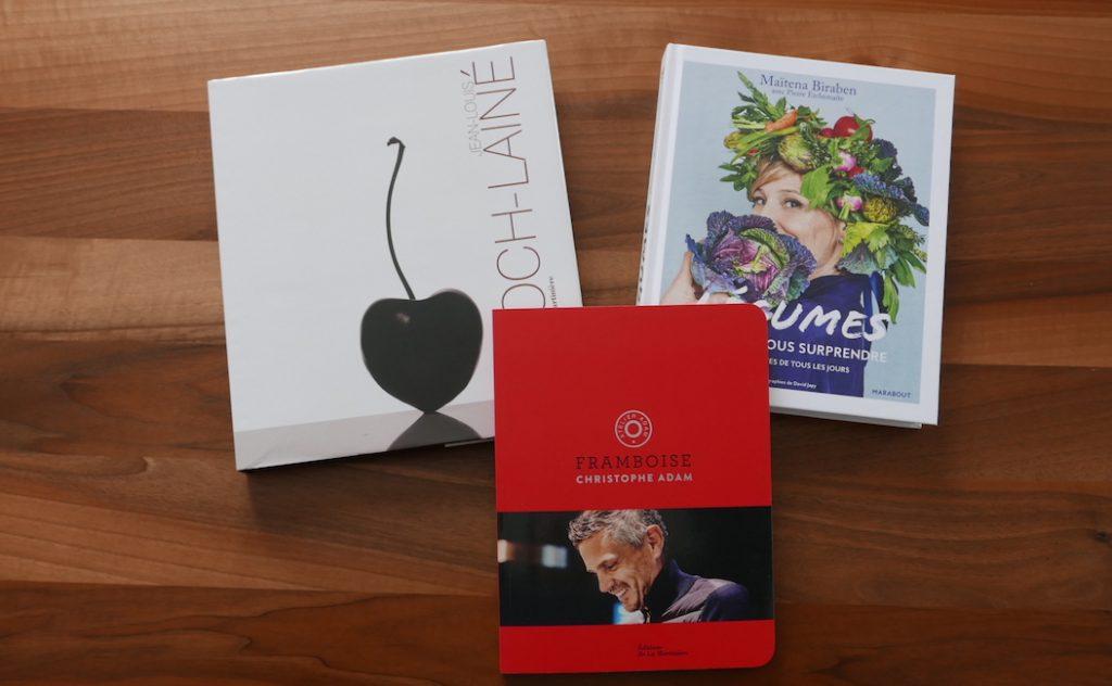 3 livres achetés à La Librairie Gourmande