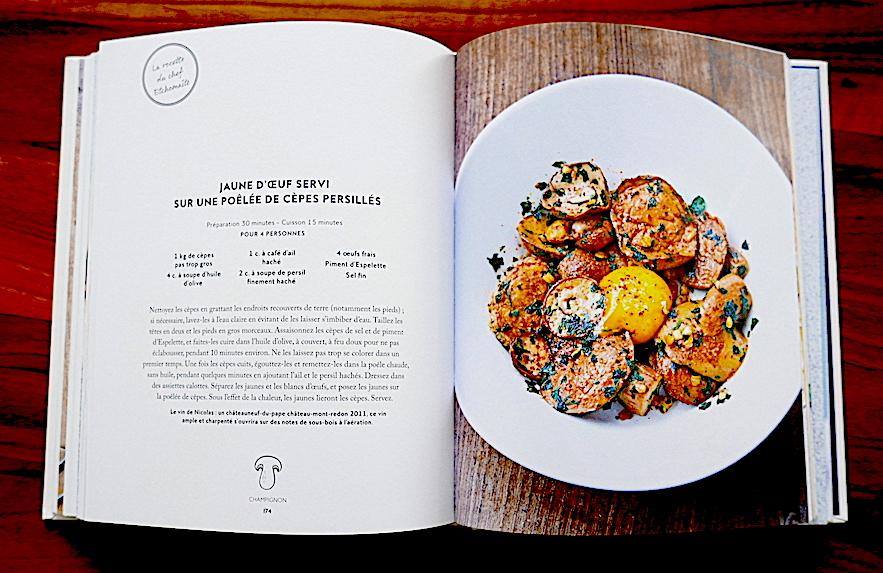 Une recette du livre Légumes
