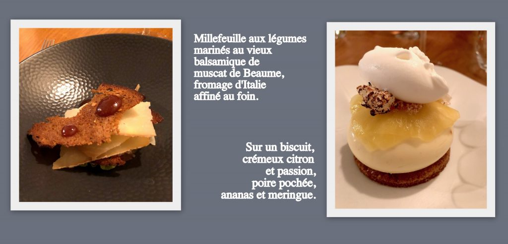 Millefeuille fromage et Dessert