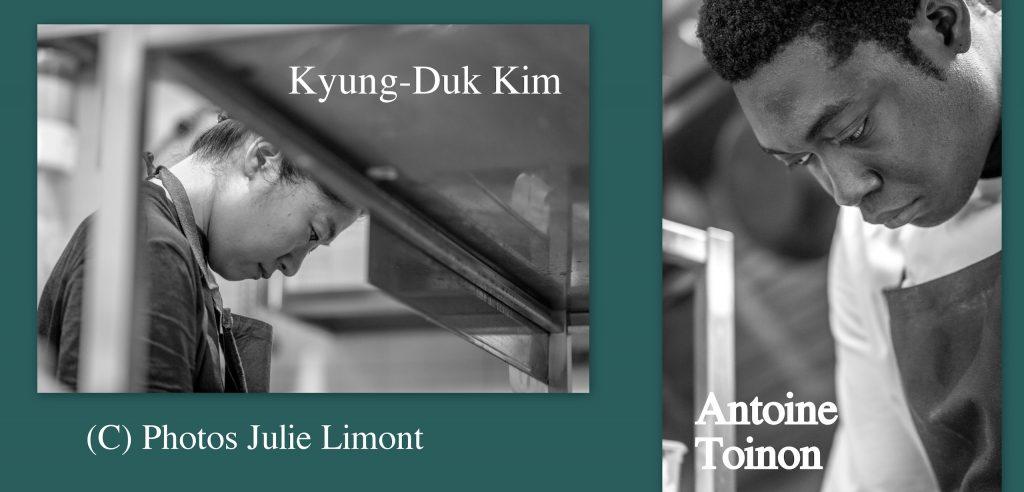 Portrait de Kyung-Duk Kim et Antoine Tonon