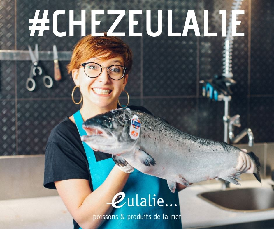 Eulalie et son saumon